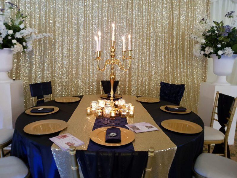 candelabra gold